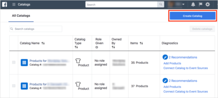 Create A Product Catalog