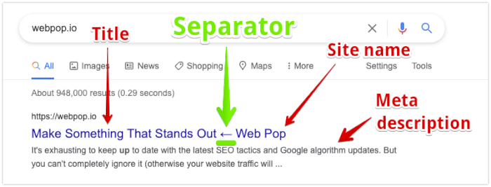 How To Change The SEO Separator of Your Shopify Store