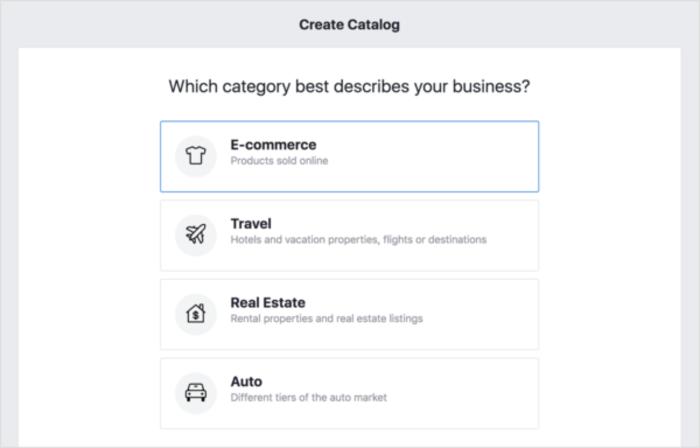 Product Catalog Ecommerce Category