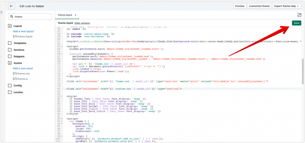 save your css stylesheet