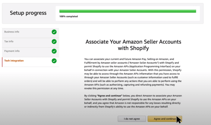 shopify amazon pay associate accounts