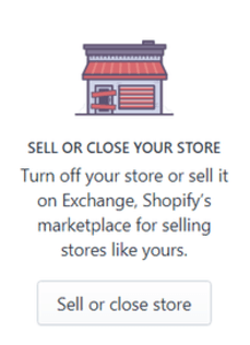 Shopify Close Your Store